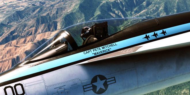 Top Gun Maverick: Erweiterung für den MS Flight Simulator analog zum Filmstart verschoben