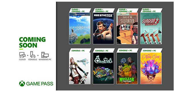 Xbox Game Pass startet mit Final Fantasy XIII in den September - Forza Motorsport 7 wird entfernt