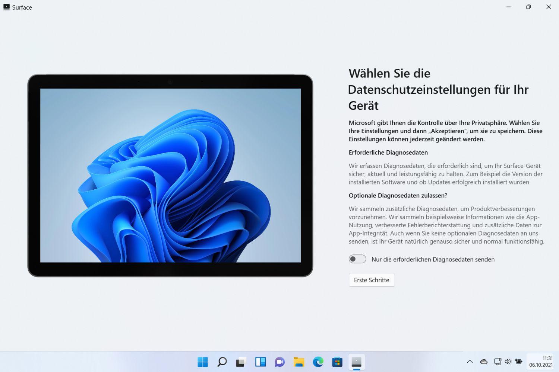 Die neue Surface App für Windows 11