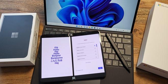 Surface Duo 2 und Surface Pro 8 eingetroffen - allererste Eindrücke