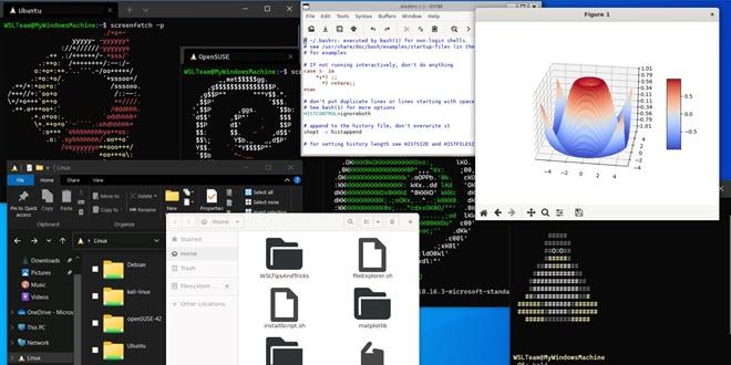 Windows Subsystem for Linux wird in den Store ausgelagert