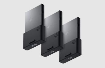 Xbox Series S X Speicherkarten