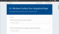 Microsoft Forms: Einfach Umfragen erstellen