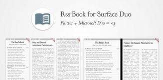 RSS Book für das Surface Duo