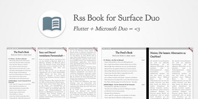 Wir basteln uns mit Googles Flutter einen etwas anderen RSS Reader für das Surface Duo