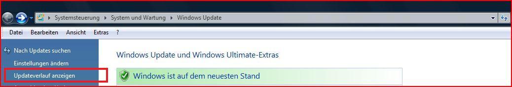 Neuinstallation Windows 7