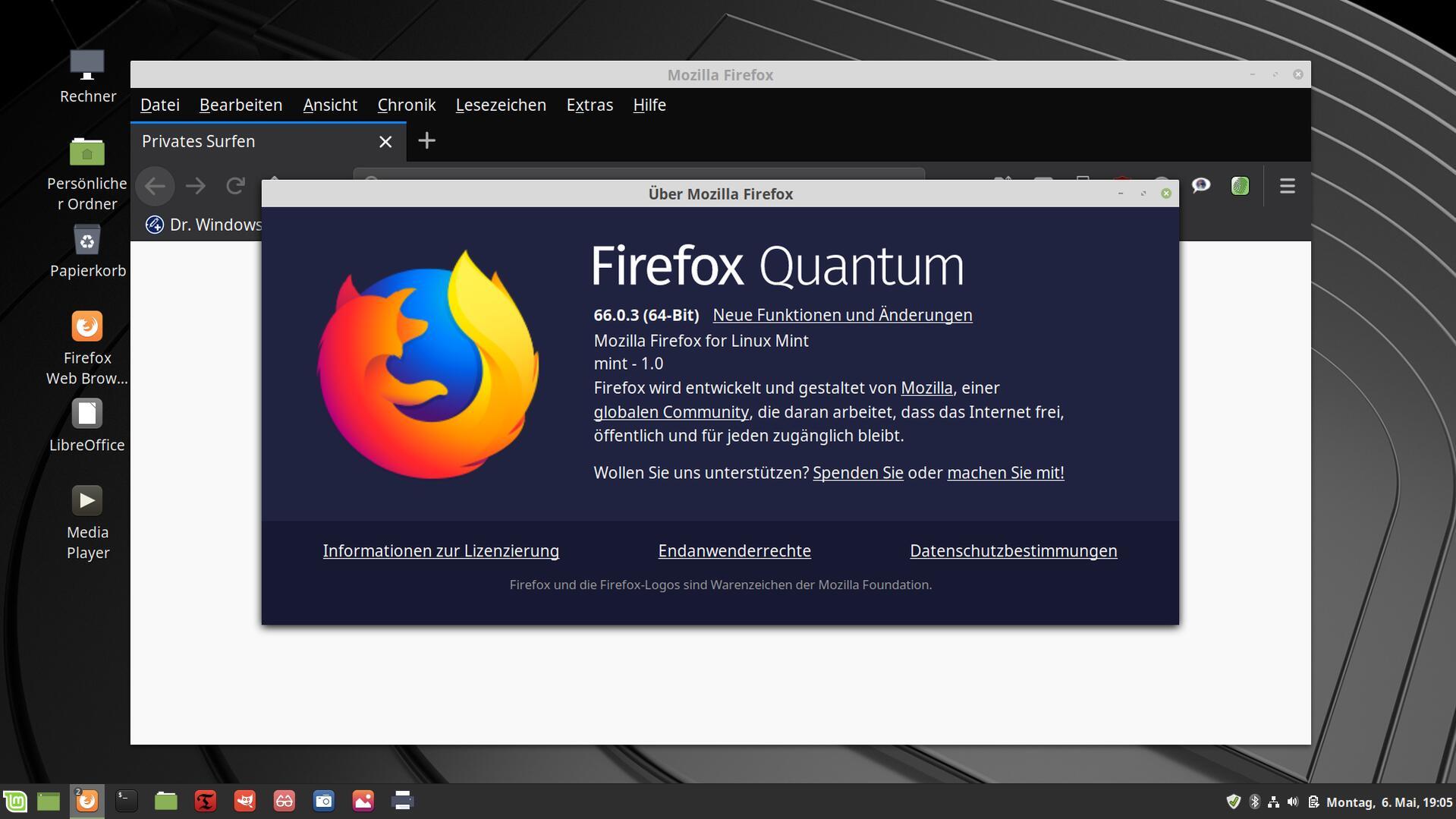 firefox verifizierung abschalten