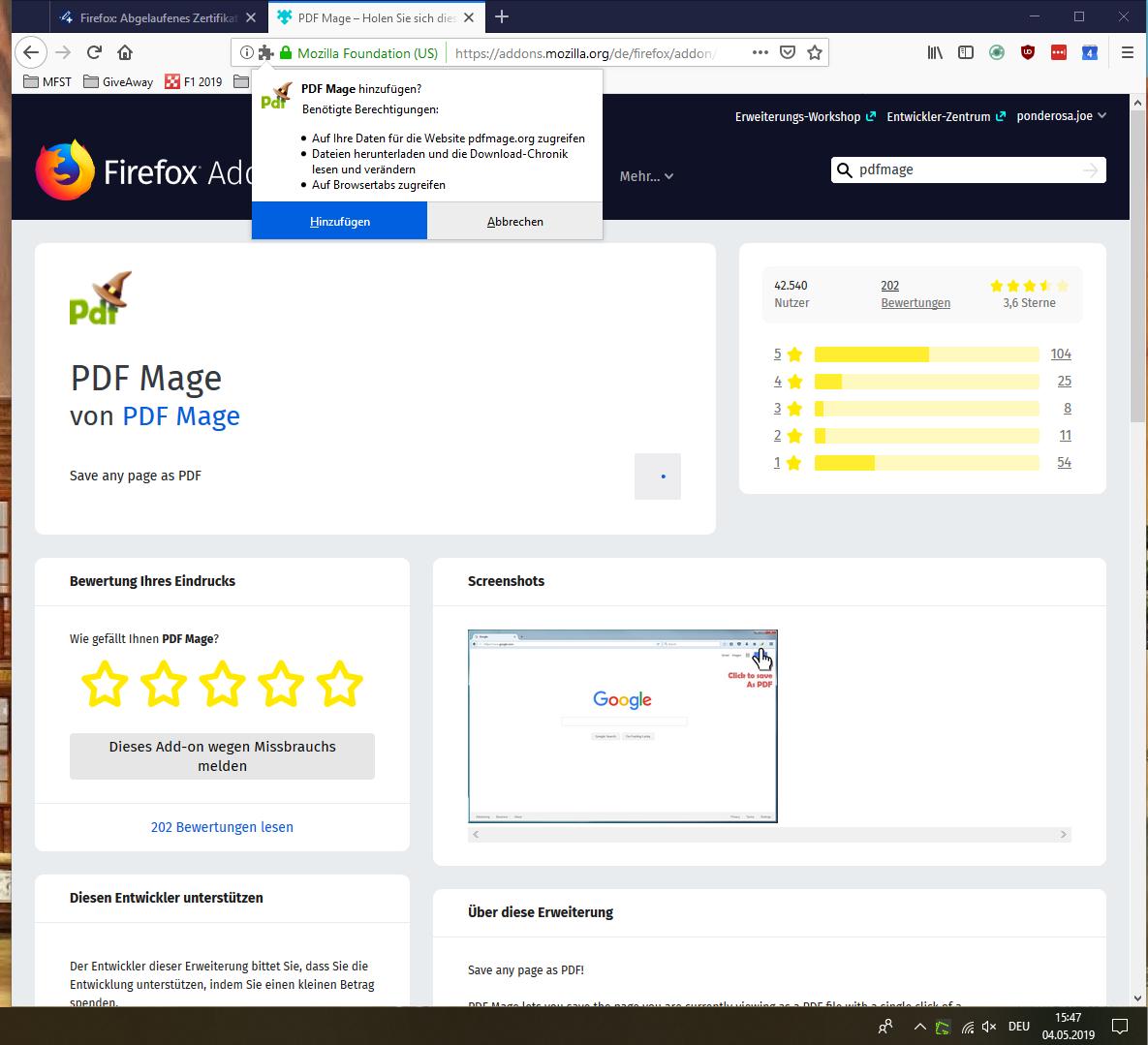 firefox mehrere links gleichzeitig downloaden
