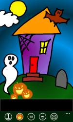 Halloween Coloring Book - Windows Phone 7 App .png