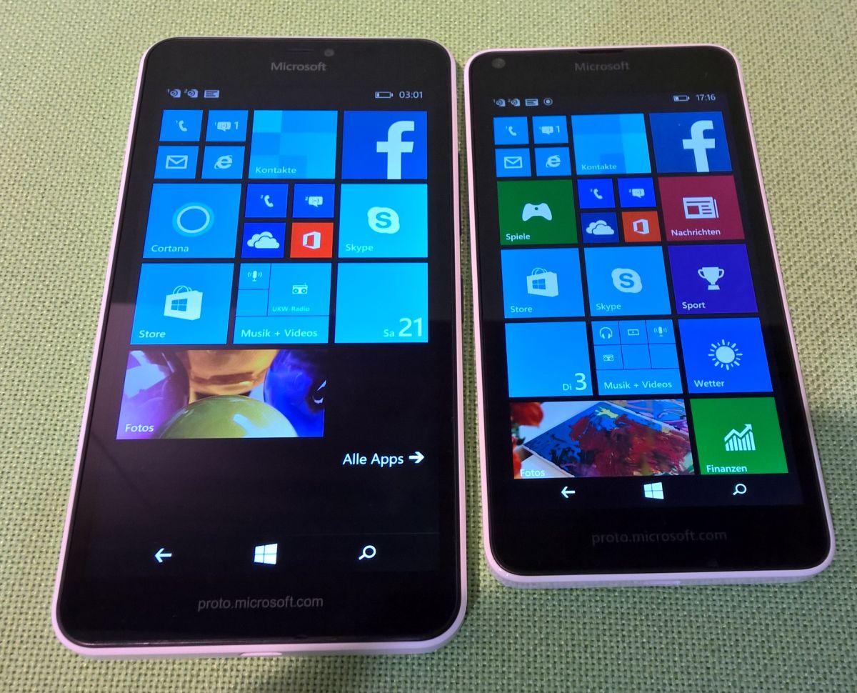 Lumia 640 und lumia 640 xl hands on und erste eindr cke for Window 640 xl