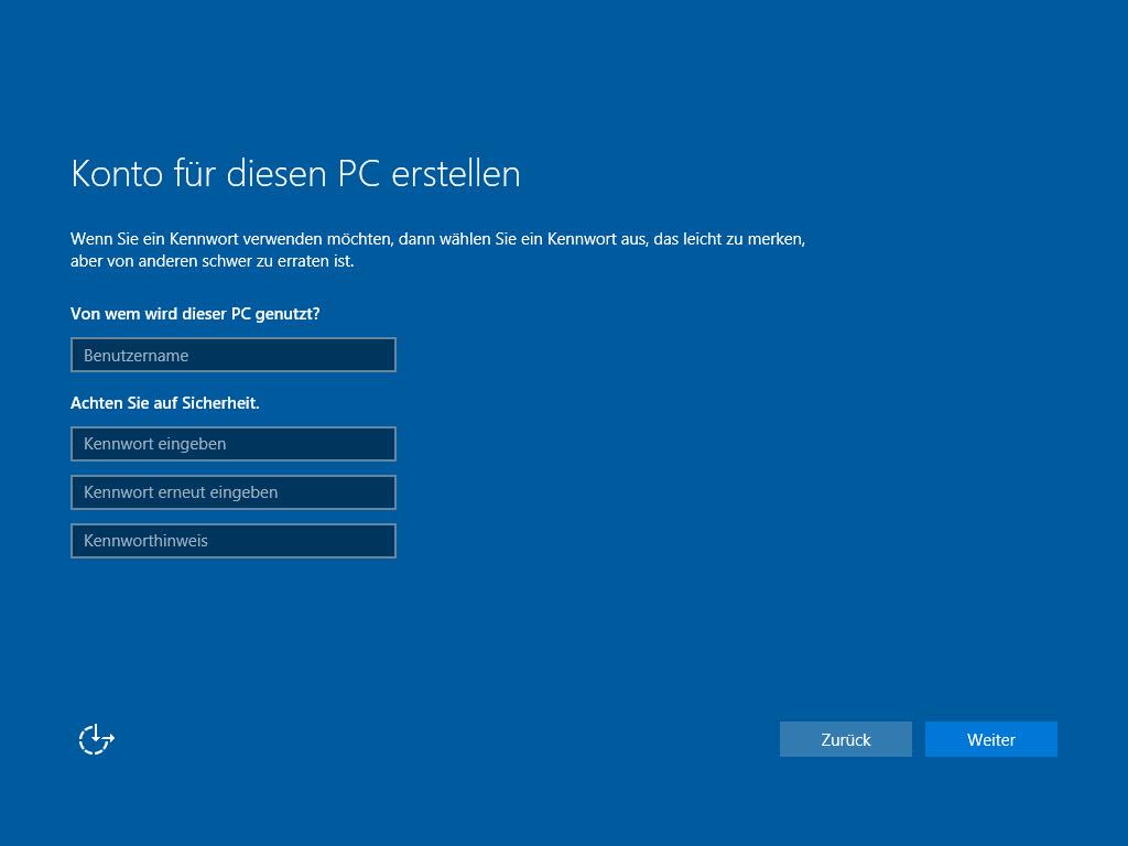 Windows 10 Ohne Konto