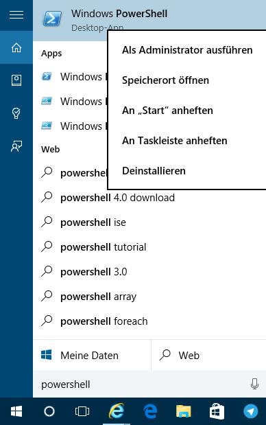 windows store app neu installieren