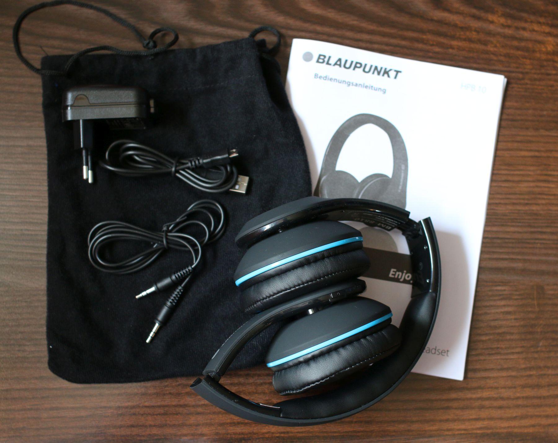 Ausprobiert: Blaupunkt Bluetooth-Kopfhörer HPB 10 › Dr. Windows