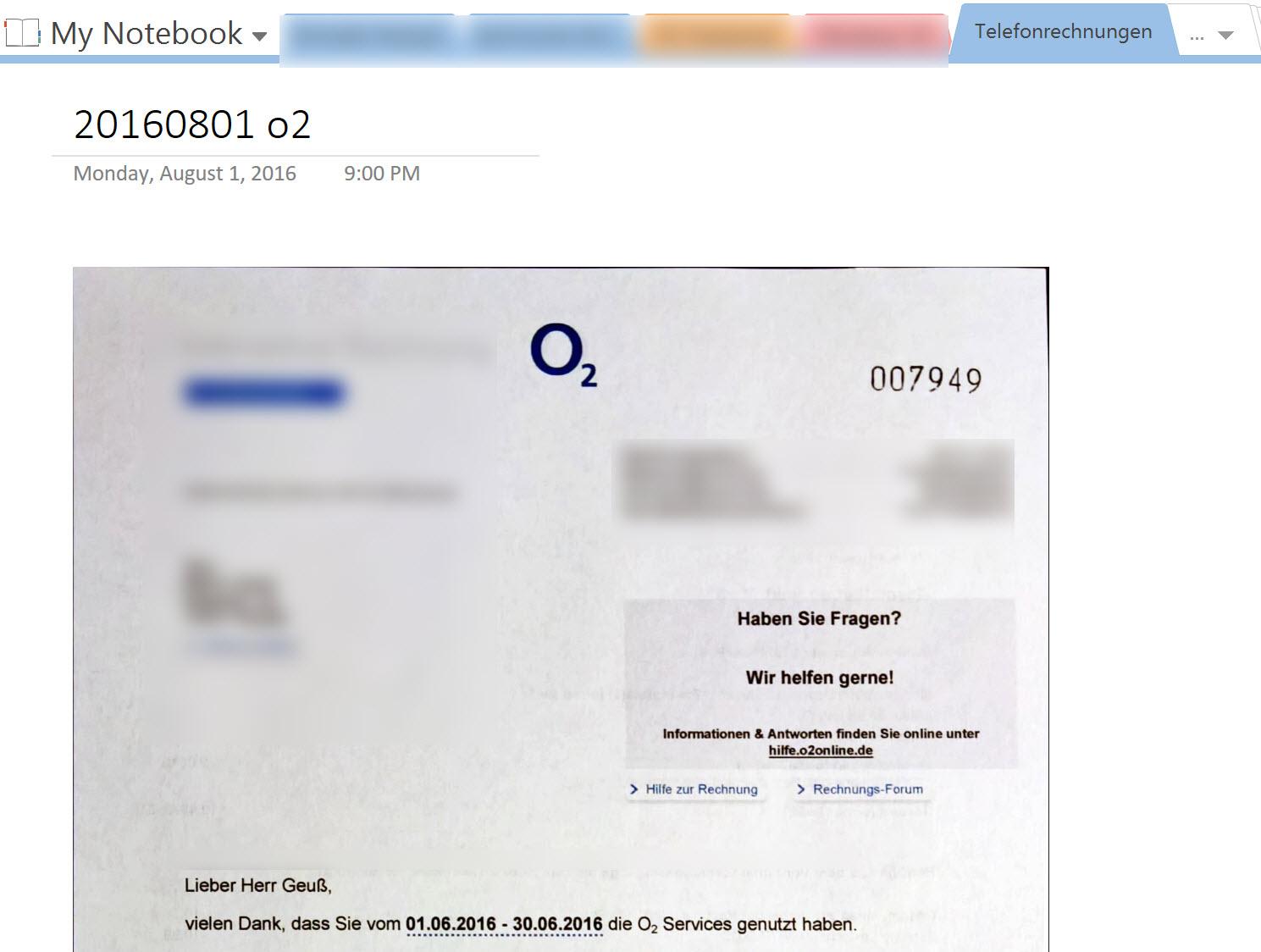 Mit OneNote, Office Lens und Stempel: Meine digitale ...
