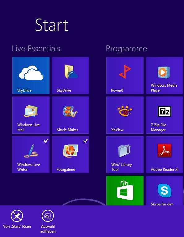 Windows Store Apps Deinstallieren