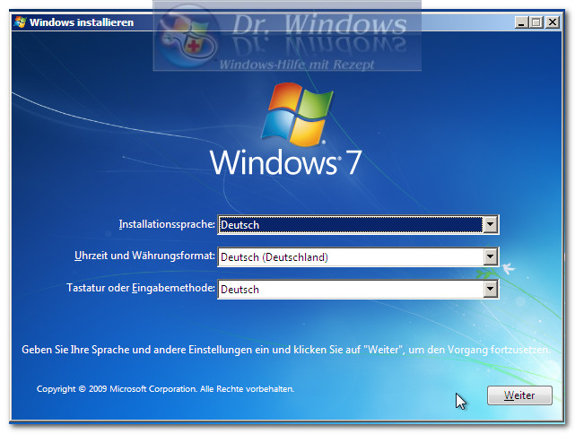 Systemstartreparatur Für Vista Und Windows 7 Dr Windows